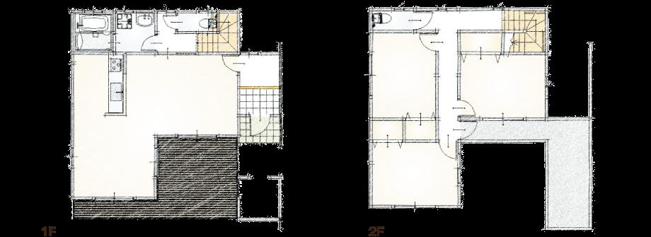 FOREST HOUSE(フォレストハウス)|参考プランの外観写真